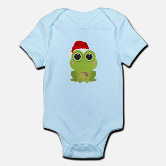Christmas Frog Body Suit