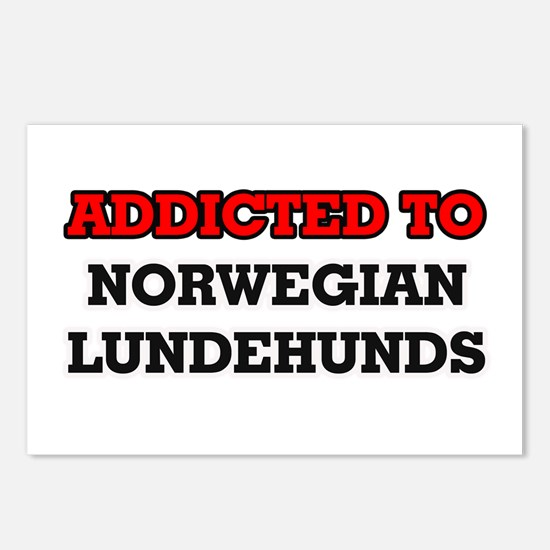 Addicted to Norwegian Lun Postcards (Package of 8)