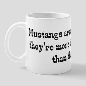 Mustangs are my Life Mug