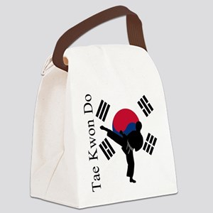 TKD Flag Canvas Lunch Bag