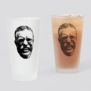Laughing Teddy Drinking Glass