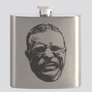 Laughing Teddy Flask