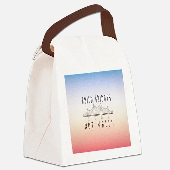 Cute Liberal Canvas Lunch Bag