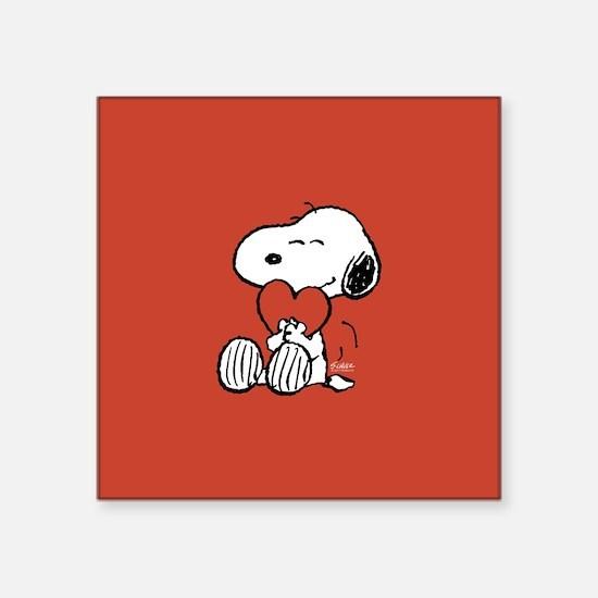 Peanuts: Snoopy Heart Sticker