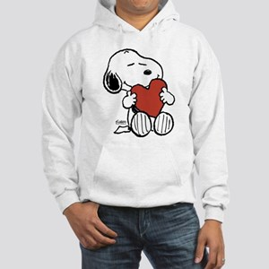 Snoopy on Heart Sweatshirt