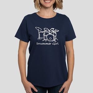 Drummer Girl Women's Classic T-Shirt