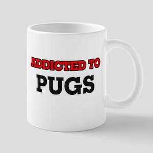 Addicted to Pugs Mugs