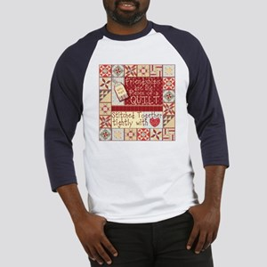 Friendships are Like Quilts Baseball Jersey