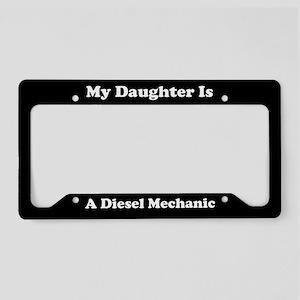 Daughter - Diesel Mechanic - LPF License Plate Hol
