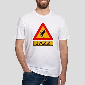 Jazz Caution Sign T-Shirt