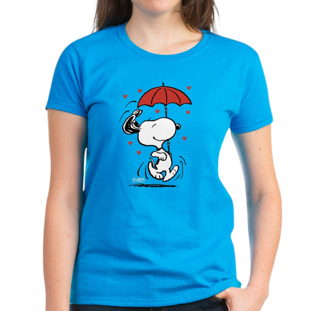 CafePress-Peanuts-Snoopy-Heart-T-Shirt-Women-039-s-Cotton-T-Shirt-181901086 thumbnail 46