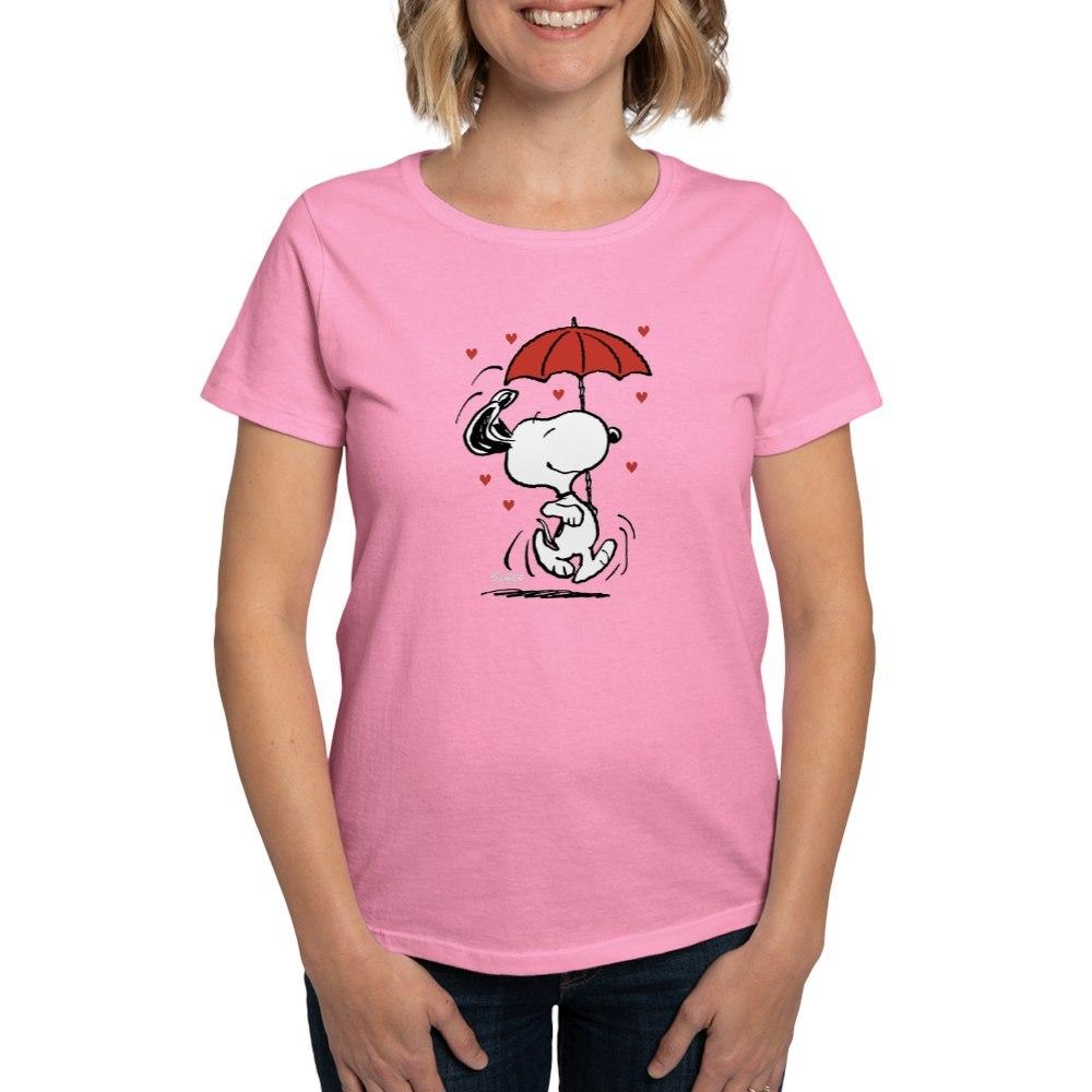CafePress-Peanuts-Snoopy-Heart-T-Shirt-Women-039-s-Cotton-T-Shirt-181901086 thumbnail 28