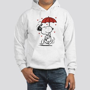 Snoopy on Heart Sweatshirt