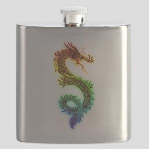Colorful Dragon Flask