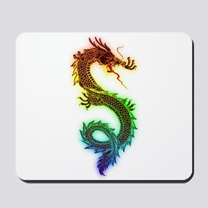 Colorful Dragon Mousepad