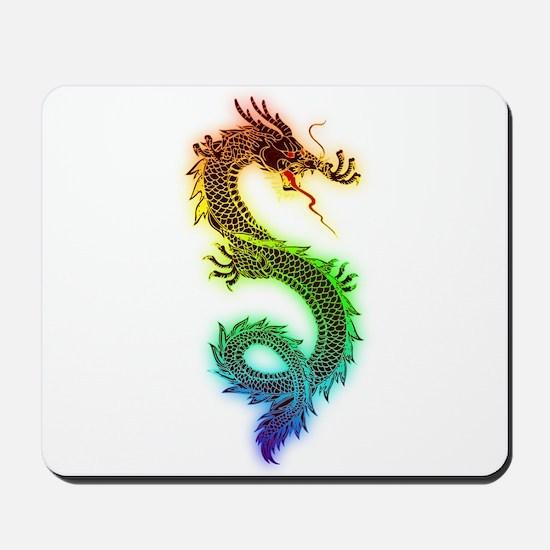 Colorful Dragon Mousepad