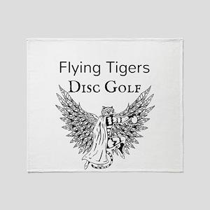 JBC Designs Flying Tiger Disc Golf Throw Blanket
