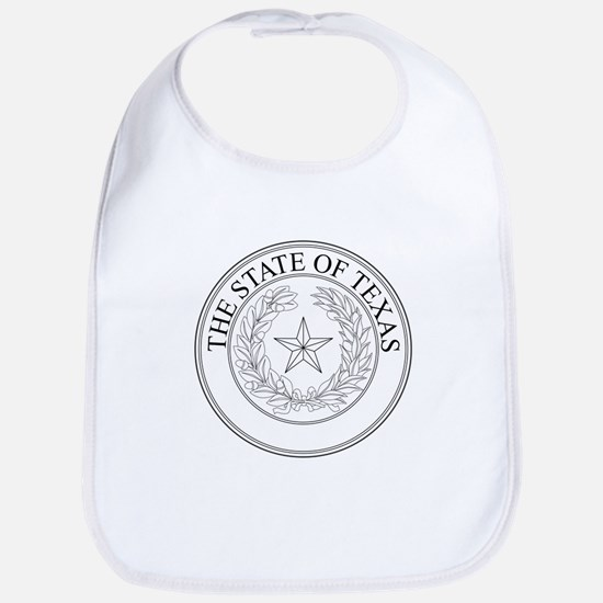 The State Of Texas Seal Bib
