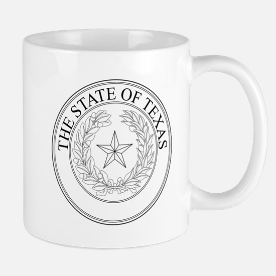 The State Of Texas Seal Mugs