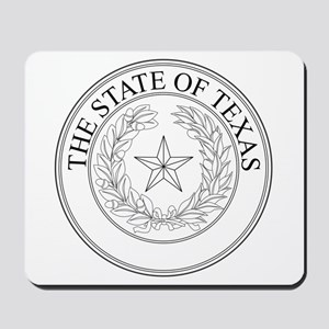 The State Of Texas Seal Mousepad