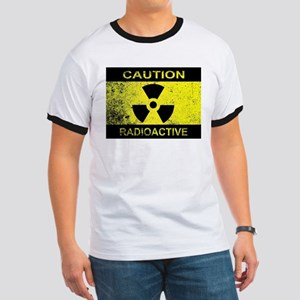 Caution Radioactive Sign T-Shirt