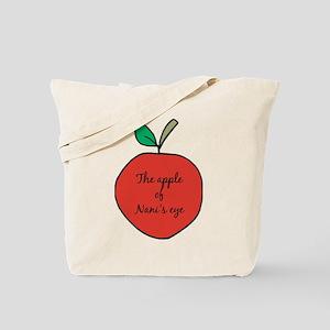 Apple of Nani's Eye Tote Bag