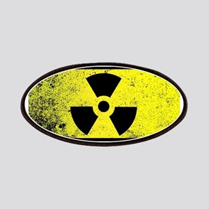 Caution Radioactive Sign Patch