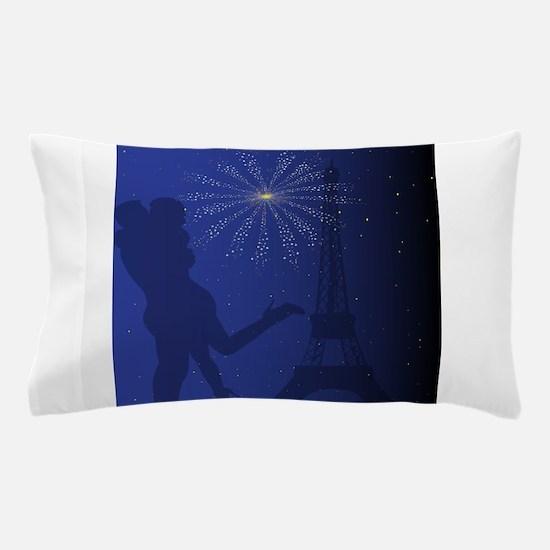 Paris Romance Pillow Case