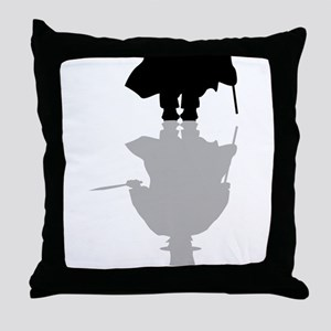 Reflection Of Jack The Ripper Throw Pillow