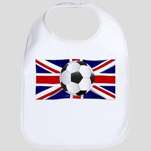 British Flag and Football Bib