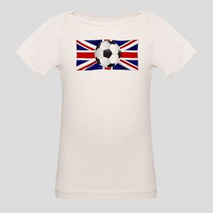 British Flag and Football T-Shirt