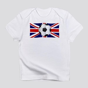 British Flag and Football Infant T-Shirt