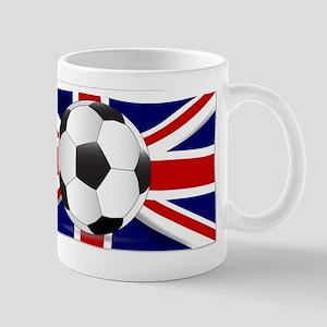 British Flag and Football Mugs