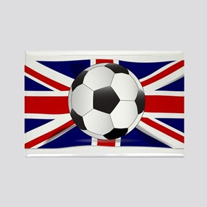 British Flag and Football Magnets