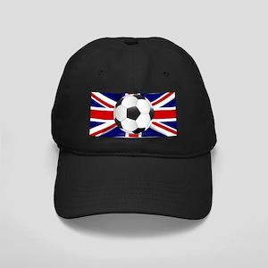 British Flag and Football Black Cap