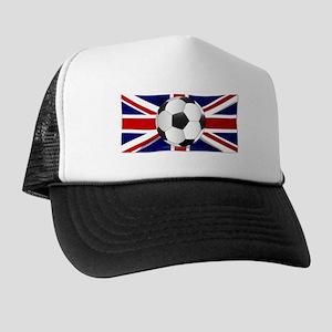 British Flag and Football Trucker Hat