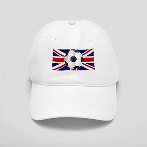 British Flag and Football Cap