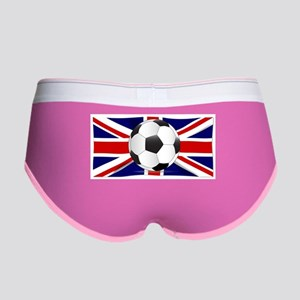 British Flag and Football Women's Boy Brief