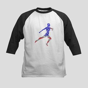 Stars and Stripes Runner Baseball Jersey