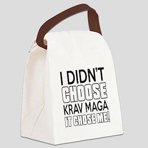 I didn't Choose Krav Maga Canvas Lunch Bag