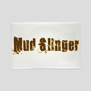 Mud Slinger Rectangle Magnet