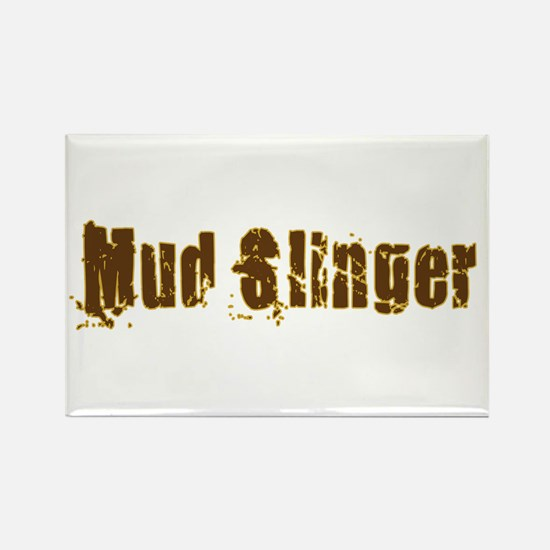 Mud Slinger Rectangle Magnet