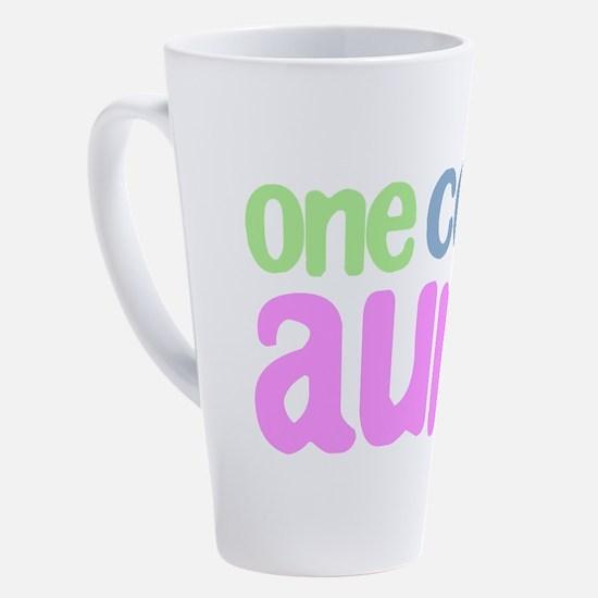 Unique I love my aunt uncle 17 oz Latte Mug