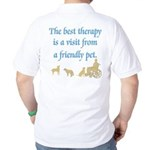 Best Therapy is a Visit Golf Shirt