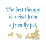 Best Therapy is a Visit Small Poster