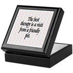 Best Therapy is a Visit Keepsake Box