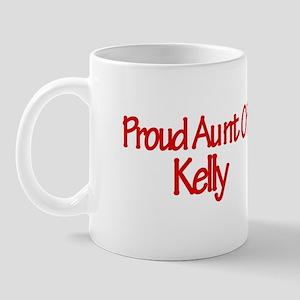 Proud Aunt of Kelly Mug