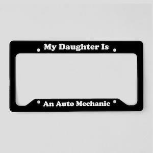 Daughter - Auto Mechanic - LPF License Plate Holde