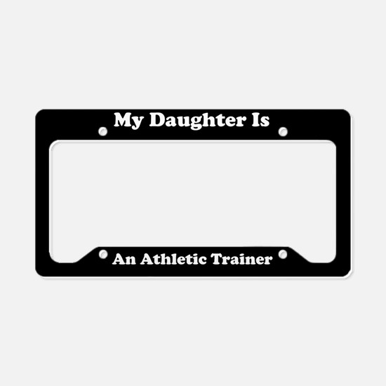 Daughter - Athletic Trainer - LPF License Plate Ho