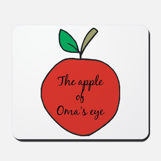 Apple of Oma's Eye Mousepad